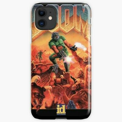 Doom 1993 Cover Phone Case For iPhone X R 8 7 S 6 11 Pro Plus Max, Video Game