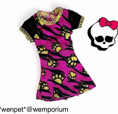 Monster High Doll Clothes Fab Printed Top Howleen Wolf