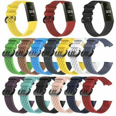 Replacement Strap Silicone Band Bracelet Wristband for Fitbit Charge 3