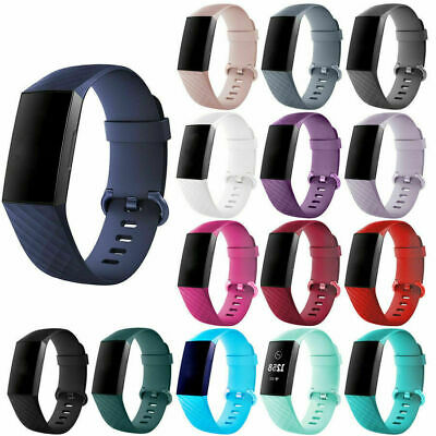 Replacement Wristband Strap Bracelet Band for Fitbit Charge 3