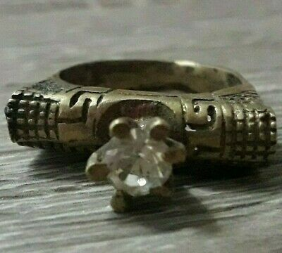 Ancient Very Old Ring Wedding Viking Unique Artifact Extremely Rare Find Antique