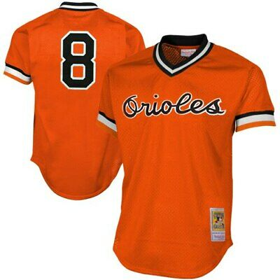Cal Ripken Jr Baltimore Orioles Mitchell & Ness 1988 Authentic Cooperstown