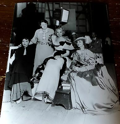 Luise Rainer Elizabeth Allan Photograph Photo From Negative 426 Double Weight