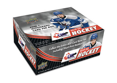 2019-20 Upper Deck CHL Hockey Hobby Box New/Sealed PRE-ORDER
