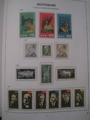 DDR East Germany Stamps 1965 MNH