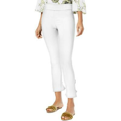 INC Womens Skinny Ruffled Dressy Ankle Pants BHFO 1989
