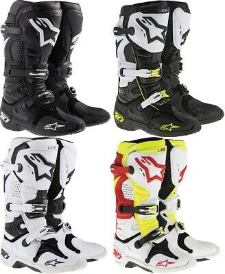 Alpinestars Tech 10 Offroad MX Boots Mens All Sizes & Colors