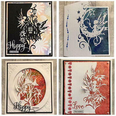 5 Type Metal Cutting Dies DIY Scrapbooking Cards Making Paper Craft DIY Stencils