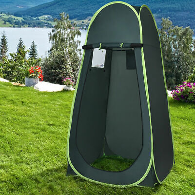 Costway Portable Pop UP Camping Fishing Bathing Shower Toilet Changing Tent Room