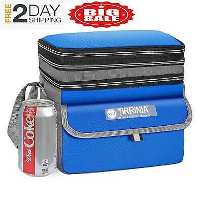 Small Insulated Lunch Bag, Leakproof Expandable Reusable Lunch Box for Women Men