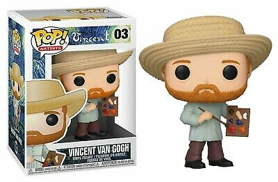 Funko Pop Artists: Vincent - Vincent Van Gogh 03