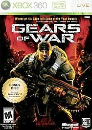 Gears of War -- Two-Disc Edition (Microsoft Xbox 360, 2008)G