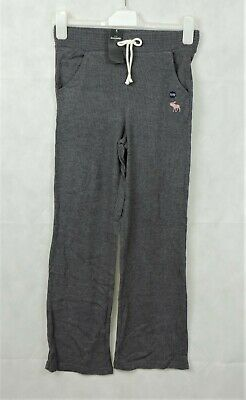 Abercrombie and Fitch Grey Wide Leg Sweatpants Age 11-12 Years LF170 AA 13