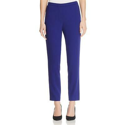 Elie Tahari Womens Marcia High Rise Straight Leg Pants Trousers BHFO 2709