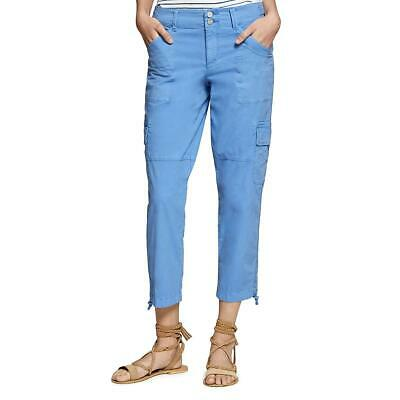 Sanctuary Womens Cropped Mid-Rise Daytime Cargo Pants Trousers BHFO 0949