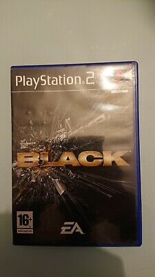 Black [ PAL ] Sony PlayStation 2 PS2 PSX