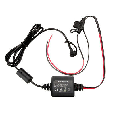 Genuine Garmin Zumo 220 350 LM dezl 760 LMT GPS Vehicle Power Cable//Cord Charger