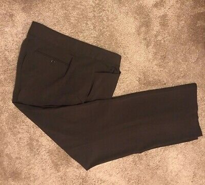 WOMENS JM COLLECTION BROWN DRESS PANTS/TROUSERS Stretch PLUS SIZE 20 NWOT