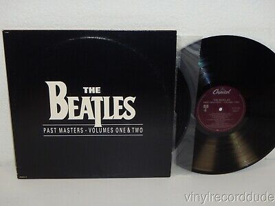 THE BEATLES Past Masters Volumes 1 & 2 1988 NM! 2x LP Capitol Records C1-91135