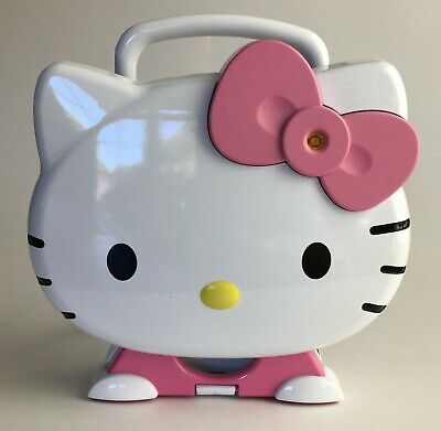 HELLO KITTY Cupcake Maker By Sanrio With Instruction Manual / Recipe Book KT5246