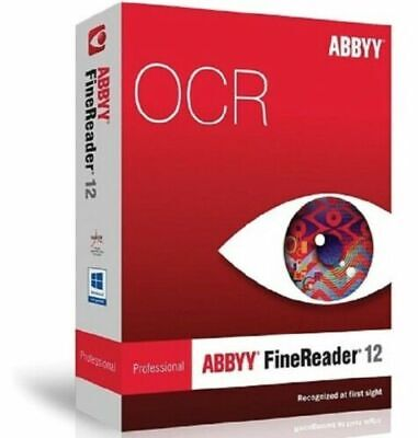 ABBYY FineReader Prof 12 PDF Editor For Windows 🔐License Key🔐Fast Delivery