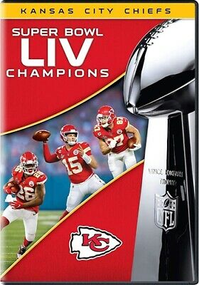 SUPER BOWL LIV 54 CHAMPIONS KANSAS CITY CHIEFS New Sealed DVD