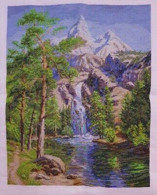 Handmade Completed Cross Stitch W 33 x H 42 cm (non framed)