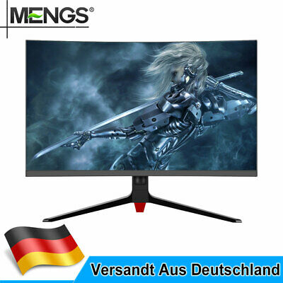 24, 32 Zoll PC Monitor 1920x1080 IPS Panel Full HD Curved Gaming LCD Monitore