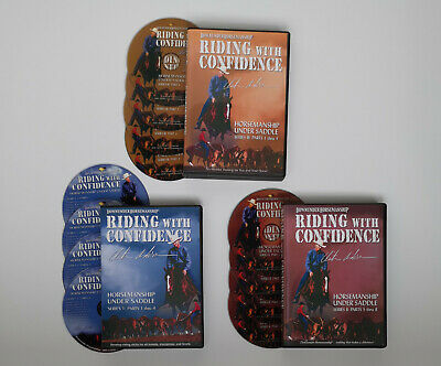 Clinton Anderson RIDING WITH CONFIDENCE SERIES 1-3