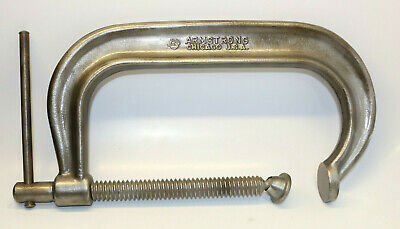 Armstrong No. 408 Heavy Duty C- Clamp USA