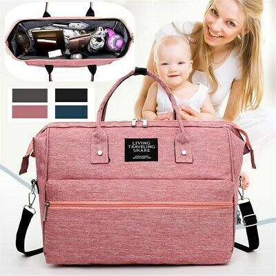 Mummy Maternity Baby Nappy Diaper Crossbody Bag Nursing Handbag Travel Tote