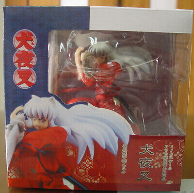 "InuYasha Final Chapter Inuyasha 7.5"" Action Figure 1/8 Scale PVC Statue Toy BOX"