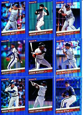 2020 Donruss Baseball - RETRO 1986 BLUE HOLO FOIL PARALLELS - U Pick From List