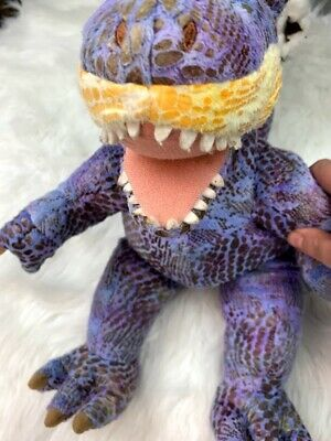 "Build a Bear BABW Purple Dinosaur T Rex 18"" Retired"