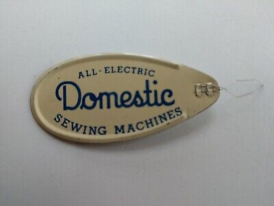 Domestic All-Electric Sewing Machines Advertising Needle Threader
