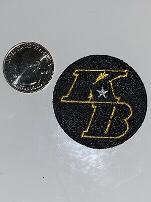 KB Kobe Bryant Los Angeles Lakers Basketball Commemorative Jersey Patch Official