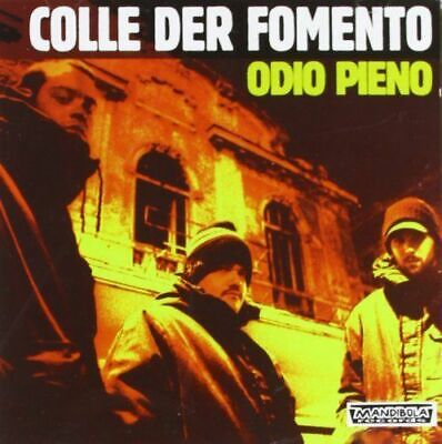 Colle Der Fomento - Odio Pieno (Import) New Cd