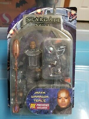 Stargate SG-1 Teal'c in Jaffa Warrior Series 2 Diamond Select Toys Mint In Box