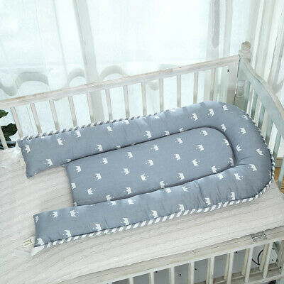 Baby Lounger for Bed Outdoor Baby Nest for Newborn Baby 0-3 Year Olds Crown_Blue