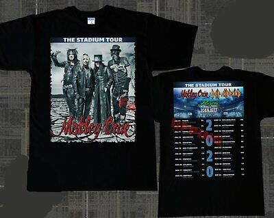 Motley Crue & Def Leppard The Stadium Tour 2020 T-Shirt