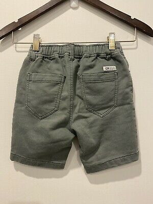 Boys Country Road Shorts Olive Green Size 4