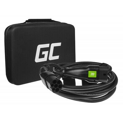 GC Cable for Charging EV Electric Cars Type 2 | 23ft | 7.2kW | 32A | 1-phase