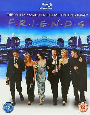 FRIENDS: THE COMPLETE SERIES New 21-Disc BLU-RAY Set 236 Episodes Seasons 1-10