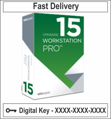 VMware Workstation 15 Pro Lifetime digital License Genuine UNLIMITED PC