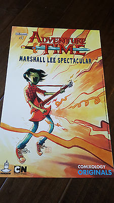 2017 Sdcc Wondercon Exclusive Comixology Adventure Time Marshall Lee Poster 100