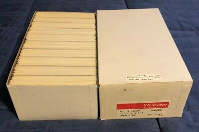 Box of 1000 NEW #3 Glassine Envelopes 2 1/2 x 4 1/4