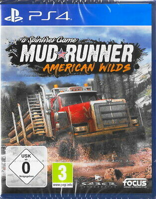 Mudrunner: American Wilds Edition - PS4 / Playstation 4 - Neu & OVP - Deutsch