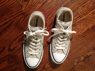 Converse All Star ~ Gray Shoes Size 7 Women, great condition!