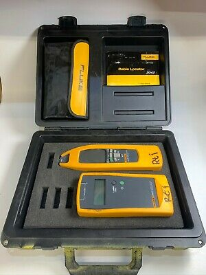Fluke 2042 Cable Locator (Transmitter + Receiver) + Accessories / UK