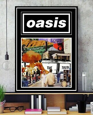 Liam & Noel Gallagher Poster - Oasis Music Wall Art - A2 A3 A4 - #Charity
